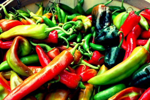 Chillies (Flickr credit: Cobblucas)